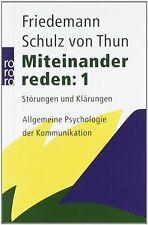 Miteinander reden 1: Störungen und Klärungen. Allgemeine... | Buch | Zustand gut