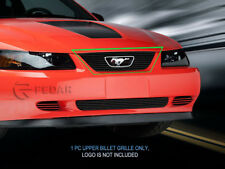 99- 04 Ford Mustang Logo Show Black Billet Grille Grill Upper Insert Fedar