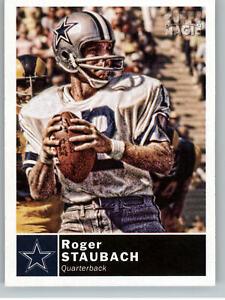 2010 Topps Magic Football #193 Roger Staubach - Cowboys