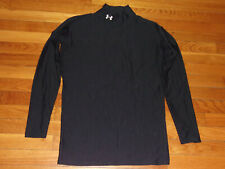 Under Armour Coldgear Long Sleeve Mock Compression Jersey Mens Xl Excellent Cond