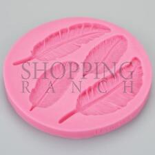 Bird Feathers Silicone Mould Angel Heaven Vintage Cupcake Cake Topper Mold