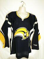 CCM Buffalo Sabres NHL Hockey Team Jersey Navy Blue Men's Medium