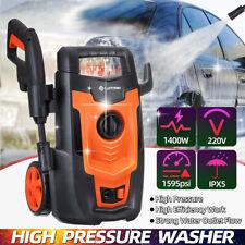 Electric High Pressure Washer 1595psi Water Power Jet Sprayer High Power Garden