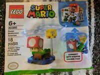 LEGO Super Mario #30385 - SUPER MUSHROOM SURPRISE - Brand New In Hand, Ship ASAP