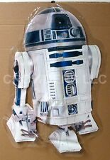 """1996 Star Wars R2D2 Inside Window Cling Store Display Decal 26x37"""" LucasFilms"""