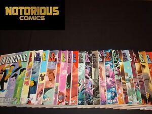 Invincible TPB Set 1-25 Complete Image Comics Robert Kirkman NEW