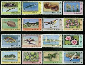 Anguilla   1977-78   Scott #275-290   Mint Never Hinged Set