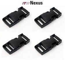 Itw Nexus Single Adjust Buckles 3/4-1-1.5-2 Inch Sizes-Black-Coyote-Tan-Fo liage