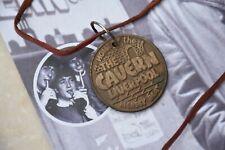 Beatles original 1961 memorabilia - cavern club membership medallion