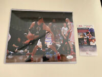 Paul Pierce Autograph Signed 8x10 Photo JSA COA Clippers Wizards
