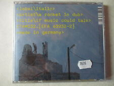 CD Label italic artist a rocket in duo made in Germany Electro    /U9