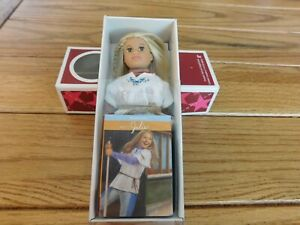 "AMERICAN GIRL JULIE  6 "" MINI DOLL  MINI BOOK NEW IN BOX FREE SHIPPING  RETIRED"
