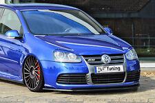 Spoilerschwert Frontspoiler Lippe Cuplippe aus ABS für VW Golf 5 MK5 R32 mit ABE