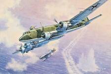 "Focke-Wulf FW 200 C-6 ""Condor"" Aircraft 1/144 Scale Plastic Model Kit RODEN 340"