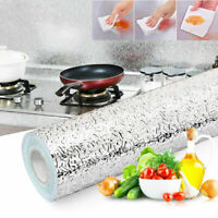 Self Adhesive Waterproof Oil-proof Aluminum Foil Kitchen Wall Stickers 60*500cm