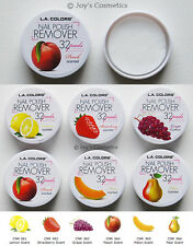 "1 L.A. COLORS Nail Polish Remover Pads ""Pick Your 1 color""  *Joy's cosmetics*"