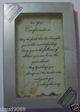 ON YOUR CONFIRMATION MIRRORED MESSAGE PLAQUE & CONFIRMATION KEEPSAKE BOOK