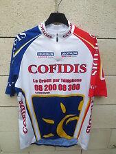 Maillot cycliste COFIDIS Tour de France 2004 Décathlon Moncoutié Vasseur XXL