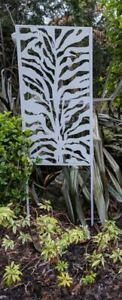 Garden Planting Screen   Zebra Print Design   1800 x 600 x 20/22mm