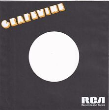 GRAPEVINE Company Reproduction Record Sleeves - (pack of 5]