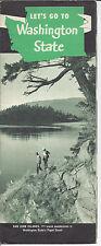 Washington State Tours Vintage 1970's Brochure