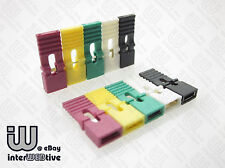 10 pieces of Standard Size 2.54mm Computer Jumper with Long Handle MultiColor