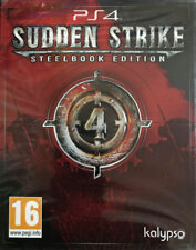 Sudden Strike 4 Steelbook Edition PS4 * NEW SEALED PAL *