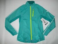 SAUCONY Running SPEED OF LIGHT Water Resist Reflective JACKET Womens Size XS NEW