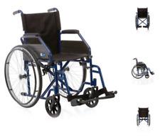 Carrozzina pieghevole 38 cm - Sedia a rotelle ad autospinta Disabili e Anziani