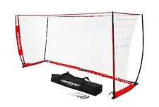 PowerNet 8x4 Portable Soccer Goal Practice Training Net w/ Carrying Bag