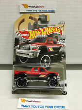 '10 Toyota Tundra RED * 2016 Hot Wheels * Truck Series * Special Edition N162
