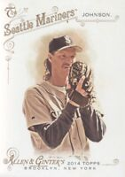 2014 Topps Allen & Ginter Baseball #86 Randy Johnson Seattle Mariners