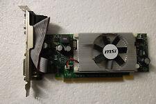 MSI GeForce 210 PCIe Graphics Video Card 512MB GDDR2 VGA DVI HDMI VN210-MD512