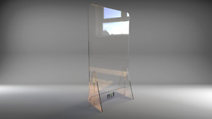 Clear Acrylic Waiting Room Partition/Barrier/Waiting Room Divider,covidsafe