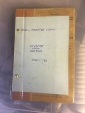 More details for royal observer corps standard training syllabus 1973 rare