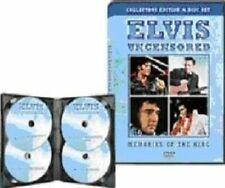 Elvis Presley - Uncensored (DVD, 2010, 4-Disc Set) Brand new and sealed