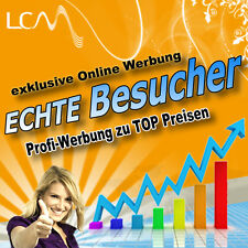 ツ 100.000 (100k) Besucher - premium Homepage Traffic Werbung ★ WerbeNetzwerke ★