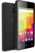 "NUU Mobile A1 4.0"" 3G Dual SIM, Unlocked Smartphone, Black UK (N64)"