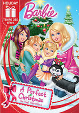 Barbie: A Perfect Christmas (DVD, 2015, Canadian) BRAND NEW SEALED