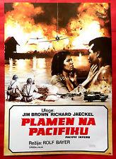 PACIFIC INFERNO 1979 WWII JIM BROWN RICHARD JAECKEL ROLF BAYER EXYU MOVIE POSTER