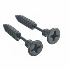 Stainless Steel Fake Cheater Screw Ear Plug Earring Stud Stretcher TAPER
