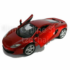 Newray 1:24 Die-cast McLaren mp4-12c Car Orange Color Model Collection Gift New