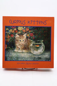 Curious Kittens 550 Piece Jigsaw Puzzle 24in x 18in Cats Brand New Sealed