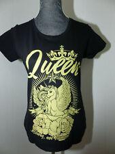 """Neues Rockabilly Shirts Rockabella Damen T-Shirt Gr S """"QUEEN EINHORN"""""""