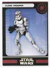 2005 Star Wars Miniatures Clone Trooper Stat Card Only Swm Mini