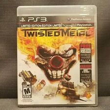 Twisted Metal -- Limited Edition (Sony PlayStation 3, 2012) PS3 Video Game