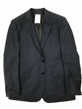 Armani Collezioni - Navy H/Tooth Blazer -50/UK40 - *NEW WITH TAGS* RRP £500