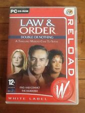 Law & Order II: Double or Nothing (PC: Windows, 2003) - US Version