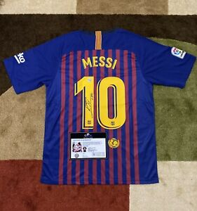Leo Messi Signed Jersey (COA included)