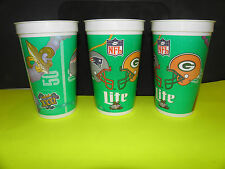 NFL-SUPER BOWL XXXI-31 PATRIOTS-PACKERS DUELING HELMITS LOGO BEER CUP